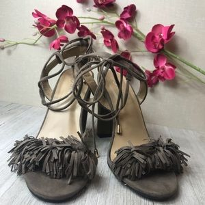Forever Women's Heels With Fringe